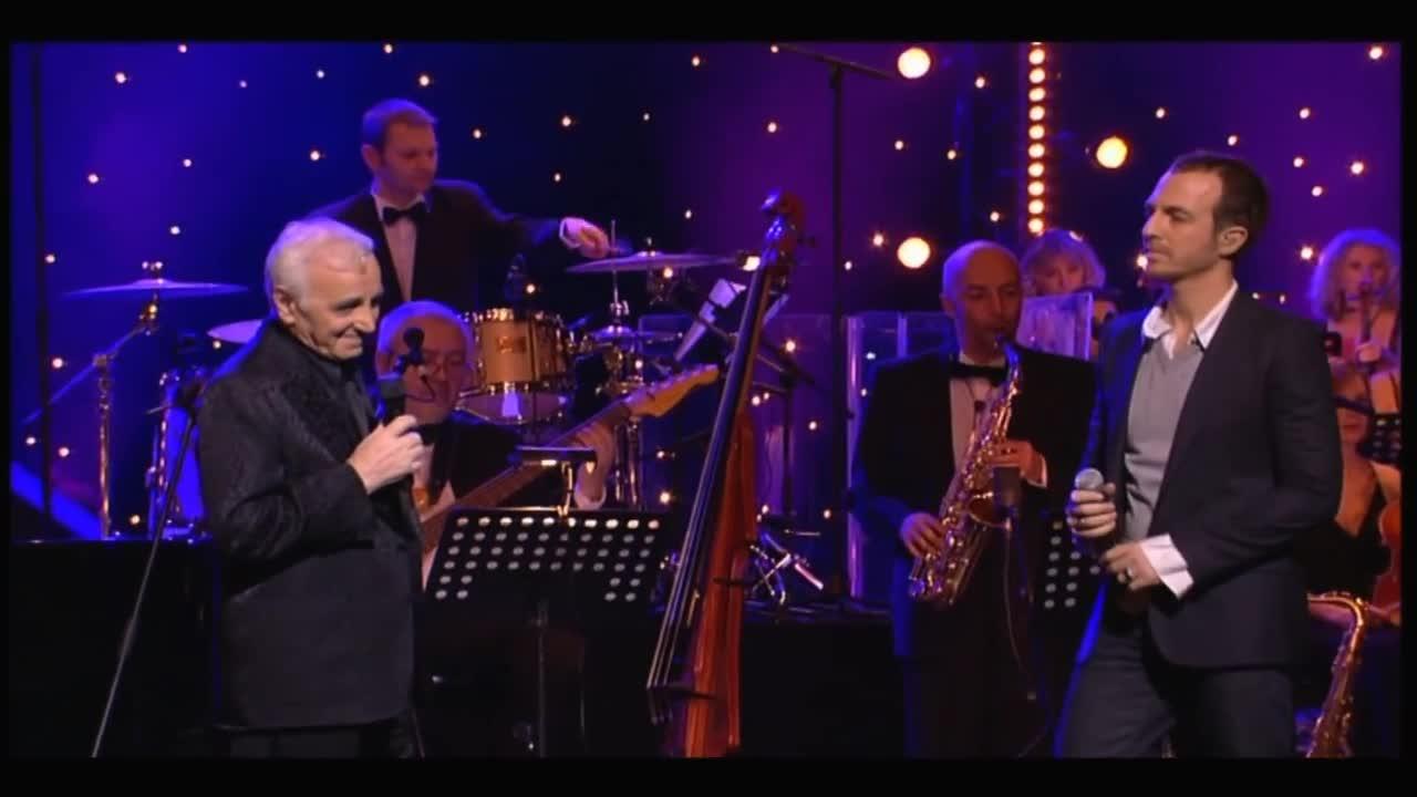 Media Calogero Charles Aznavour et ses amis à l'Opéra Garnier