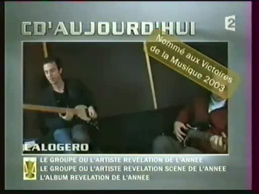 Media Calogero Cd Aujourd'hui