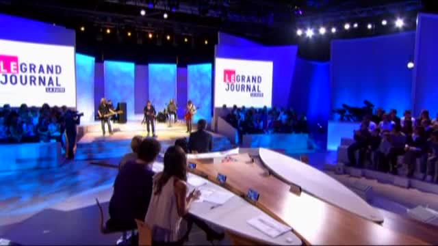 Media Calogero Le Grand Journal