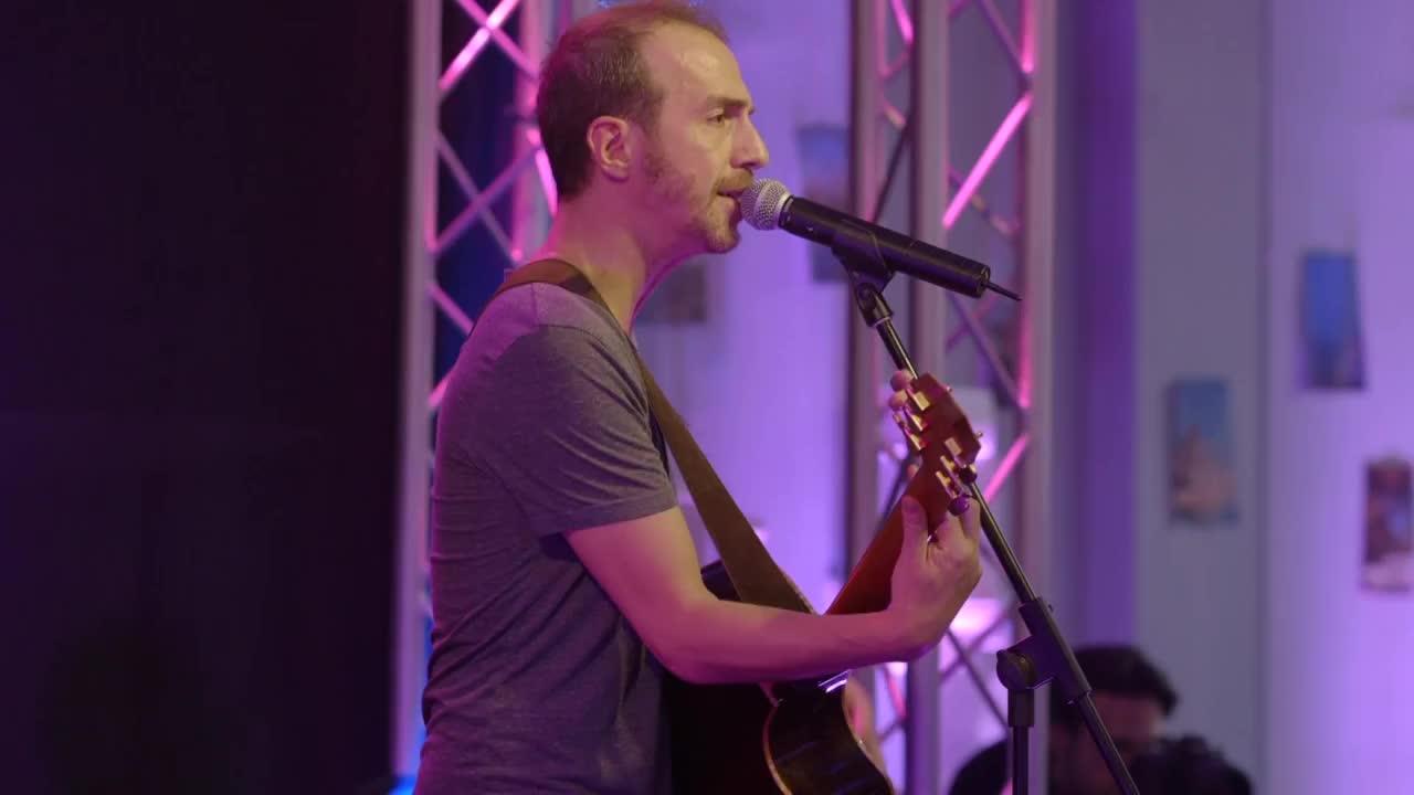 Media Calogero Concert à l'Hôpital Swynghedauw