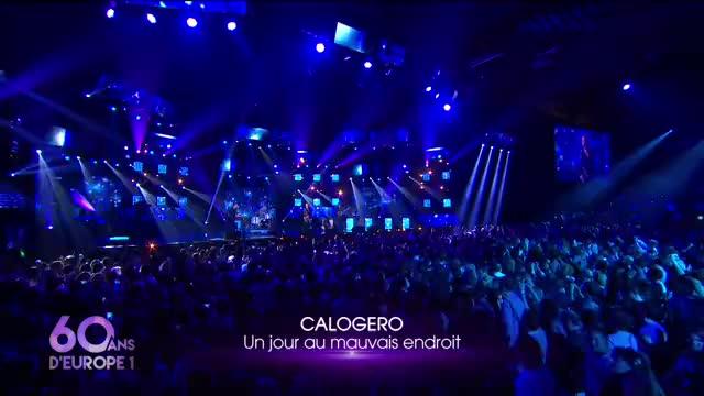 Media Calogero 60 ans Europe 1 au Zénith de Paris