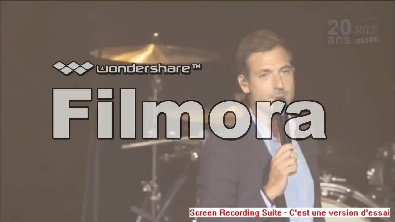 Media Calogero Concert Très Très Privé - 20 ans RTL2 à l'Olympia