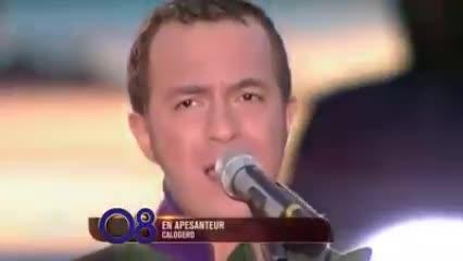 Media Calogero Les 20 chanteurs préférés des Français
