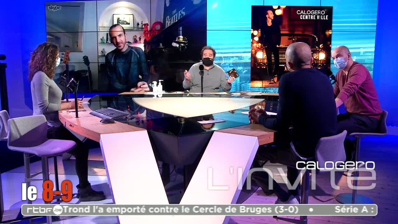 Media Calogero Le 8-9 - Calogero L'invité